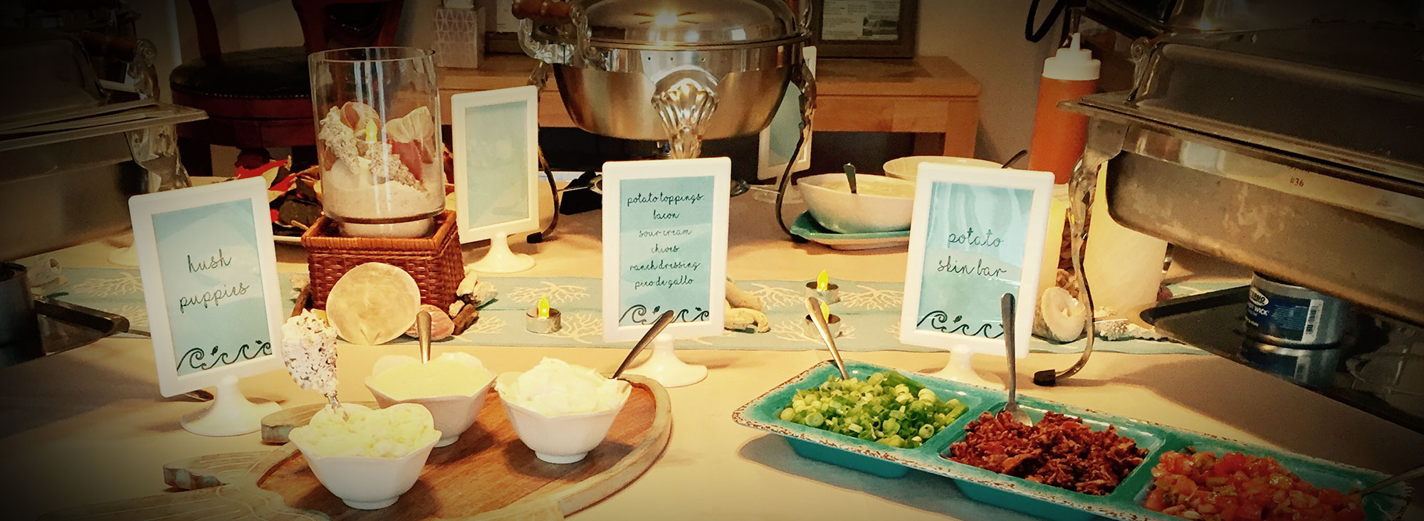 CATER YOUR SUMMER WEDDING
