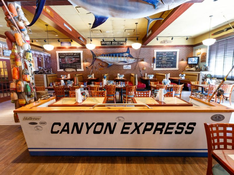 Canyon Express area